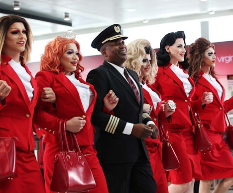 Virgin Atlantic Announces First-Ever Pride Flight With All LGBTQ Crew New York