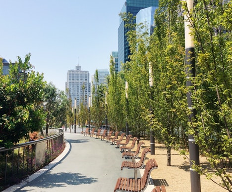 San Francisco's Newest Park Is 70 Feet Above the Heart of Downtown San Francisco