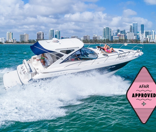 This Boat Rental Company Is the Perfect Way to Step Up Your Staycation