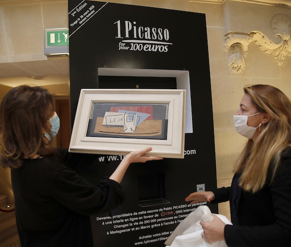 You Could Win a Picasso Painting for €100 Through This Raffle