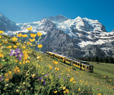 The Most Epic Way to See Switzerland Is by Train   Switzerland