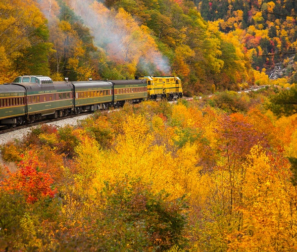 14 Fall Foliage Train Rides