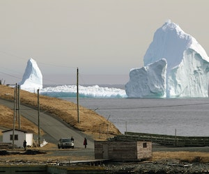 The Best Way to Experience Iceberg Season in Canada