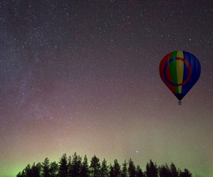 You Can Soon Watch the Northern Lights From a Hot Air Balloon