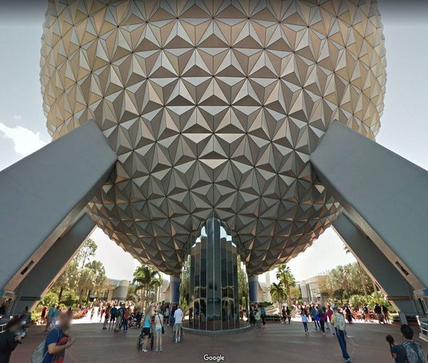 You Can NowGet Lost atDisney World Before You Arrive With Google Street View