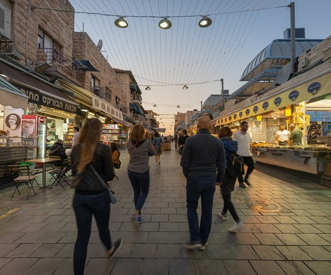 The Switching Hour: How Jerusalem's Nightlife Thrives in an Ancient Market After Sunset   Israel