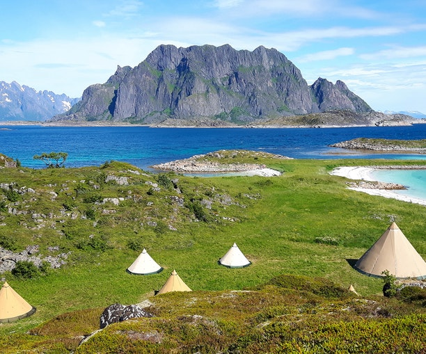 How to Glamp Under the Midnight Sun in Norway This Summer