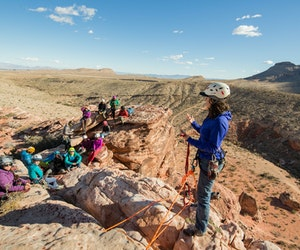 All-Female Climbing Trips, Spring Skiing, and Other Ways to Get Outside Right Now