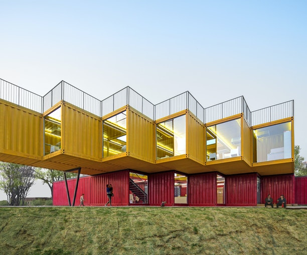 Food Trucks, Wineries, and Hotels: Stunning Shipping Container Projects Around the World