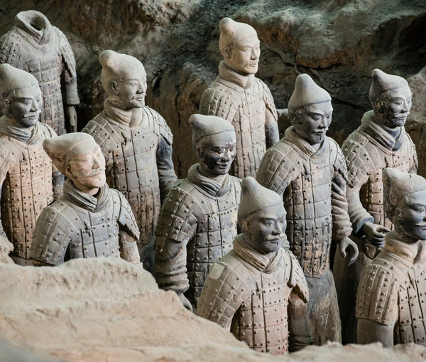 Archaeologists Discover 200 New Terra-Cotta Warriors in China