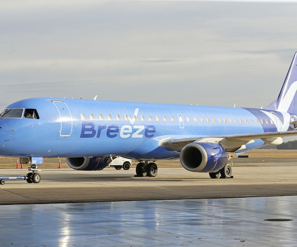 JetBlue Founder Launches Breeze Airways With Fares Starting at $39