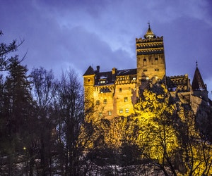 You Can Party at Dracula's Castle in Transylvania This Halloween