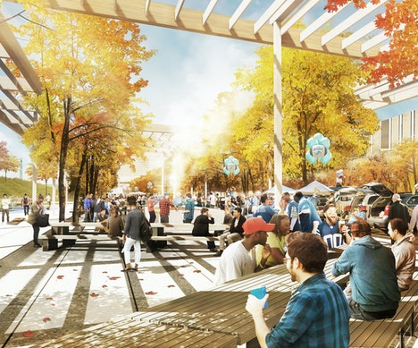 Planning for a Riverfront Makeover, Detroit Continues Its Urban Reboot Detroit