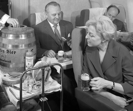 Lufthansa Is Tapping Kegs of Beer on Certain Flights for Oktoberfest Munich