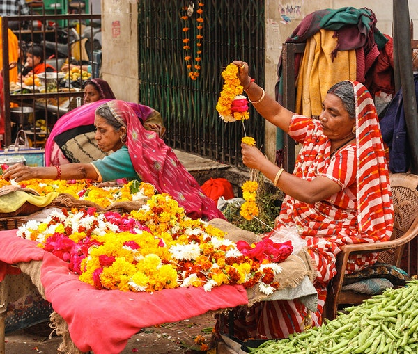 These Vibrant Photos Explore Rajasthan's Colorful Textiles and Patterns