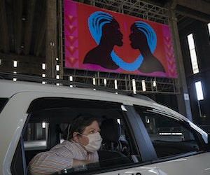 Drive-Through Exhibits Offer Socially Distanced Art Viewing