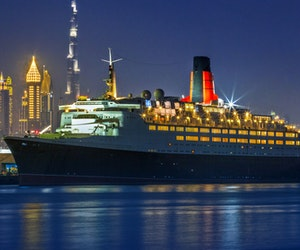 A Legendary Ocean Liner Is Rechristened as Dubai's Most Unusual Hotel