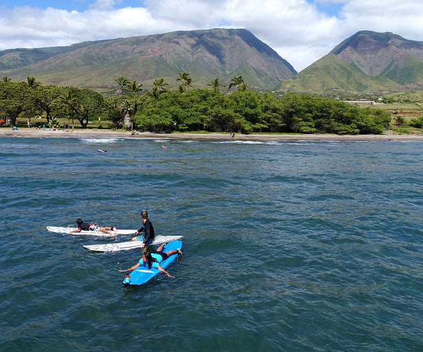 The Best Surf Lessons in Maui