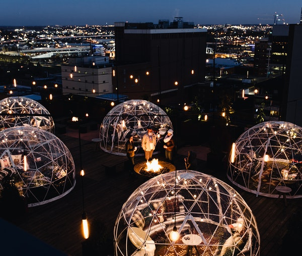 7 Winter-Ready Hotel Rooftops to Cozy Up on Right Now
