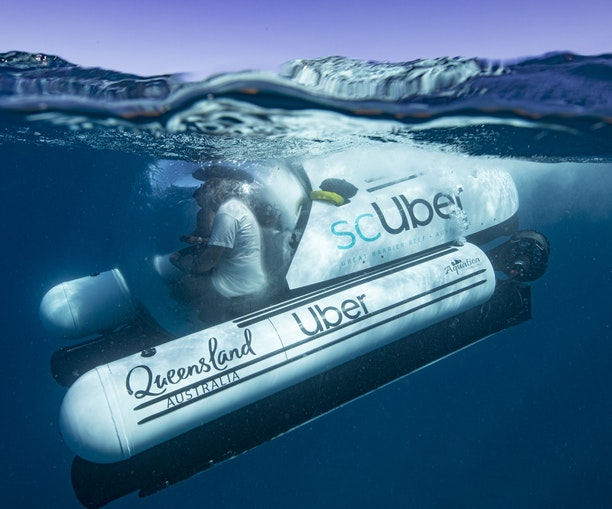 How to Book an Uber Submarine to the Great Barrier Reef