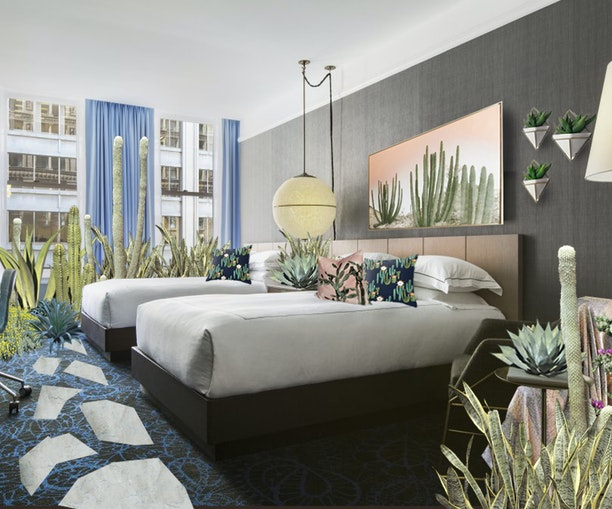 Pick the House Plants for Your Room at This Hotel Pop-Up