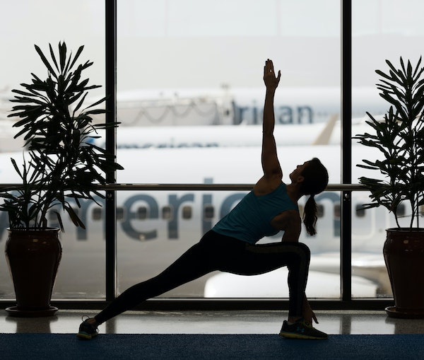 Everything You Wanted to Know About Airport Yoga (but Were Afraid to Ask)