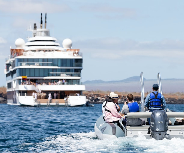 This New Mega-Yacht Just Became the Best Way to See the Galápagos