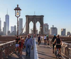 Brooklyn Bridge to Get Dedicated Bike Lane in Push to Make NYC Bike Friendly
