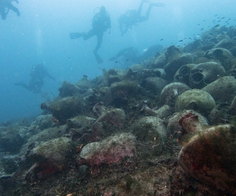 Long Off-Limits, Ancient Greek Shipwreck Opens to Divers as Underwater Museum   Greece