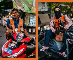 Finding Bliss on a Bangkok Motorcycle Taxi