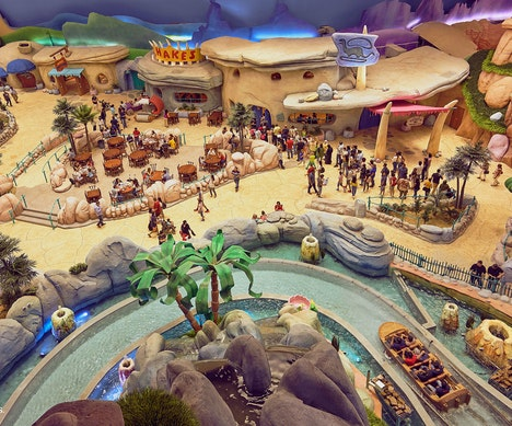 Abu Dhabi's Billion-Dollar Warner Bros. World Indoor Theme Park Is Now Open Abu Dhabi