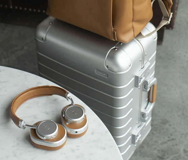 Away Launches Limited-Edition Luggage Collection for Audiophiles