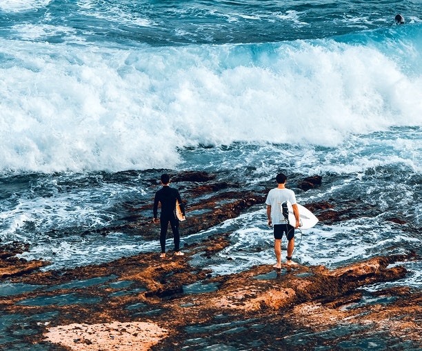 Social-Distance Surfing and Crowded Coasts: What Beaches Look Like as COVID-19 Frustrations Mount