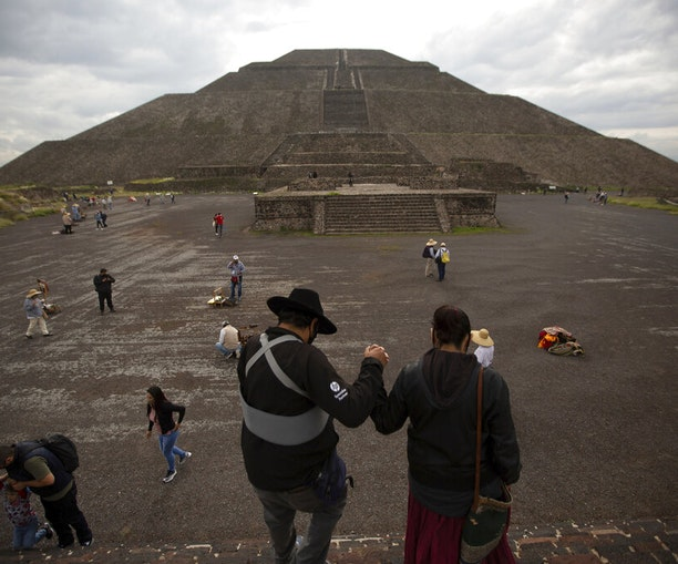 Mexico's Archaeological Ruins Reopen to Visitors With Masks