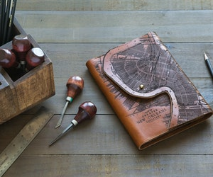 This Etched Leather Moleskine Cover Is a Keeper