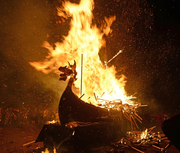 The Scottish Viking Fire Festival You Need to See to Believe
