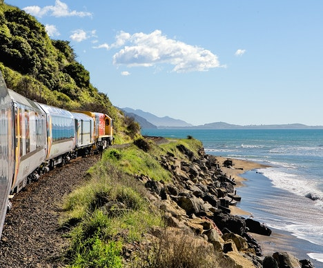 New Zealand's Most Beautiful Train Ride Is Reopening in December   New Zealand