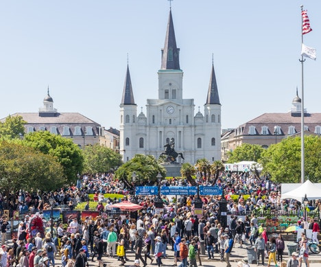 Everything You Need to Know About the French Quarter Festival in New Orleans New Orleans