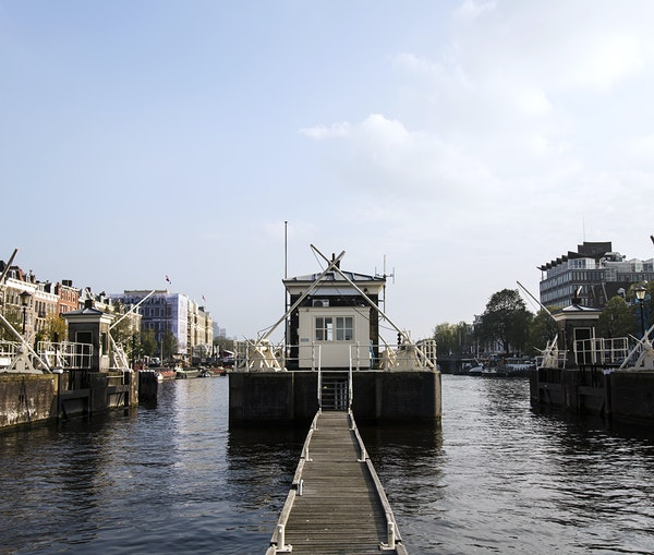Amsterdam's Tiny Bridge Houses Are Now One-of-a-Kind Hotel Suites