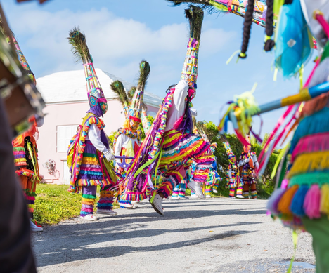 The Gombey Festival is Just One Great Reason to Visit Bermuda in Autumn   Bermuda