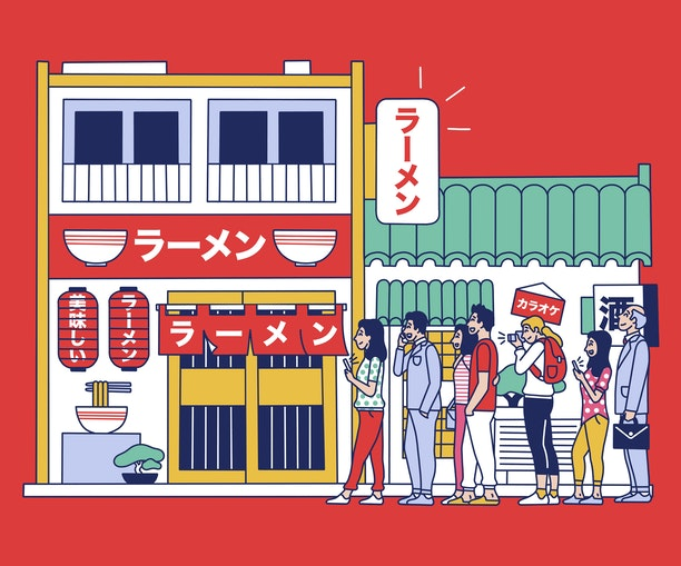 Tokyo's Long Lines Lead to Magic (and Life-Changing Ramen)