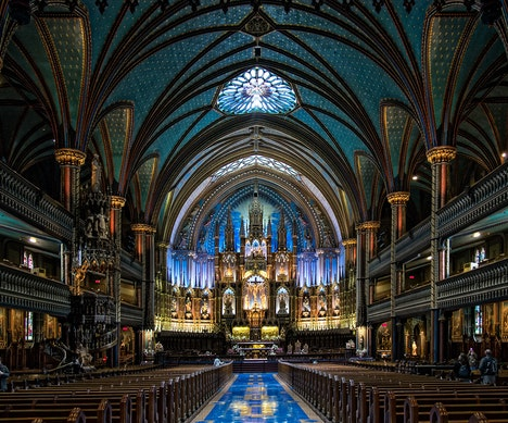 Montreal's Historic Churches Are Being Reborn as Public Spaces Montreal