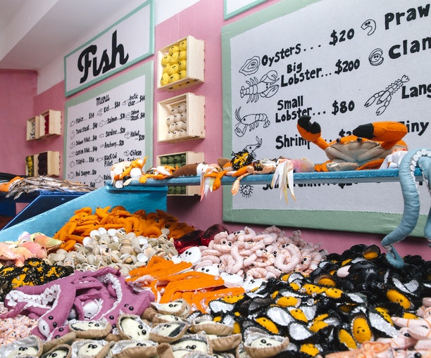 Artist Lucy Sparrow's Latest Creation Is a Felt Deli Pop-Up in New York City