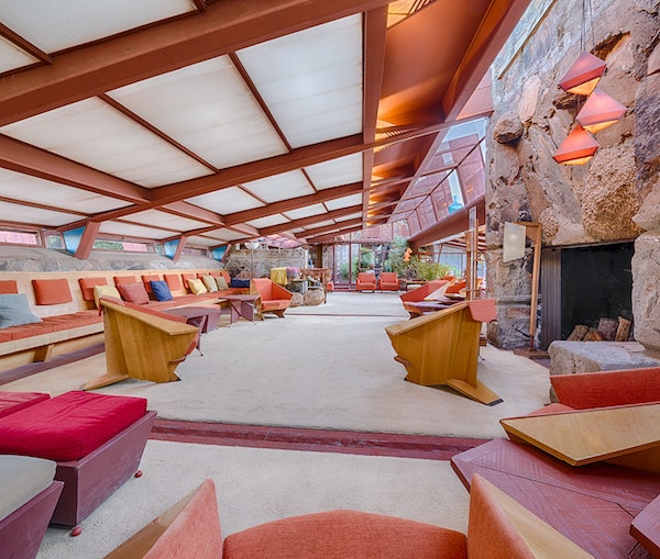 An Architecture Pilgrimage to Frank Lloyd Wright's Scottsdale Retreat