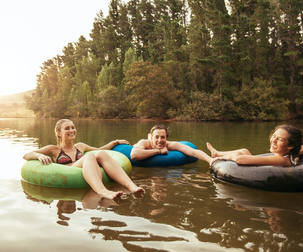 Float Through Summer at the Country's Best Tubing Spots