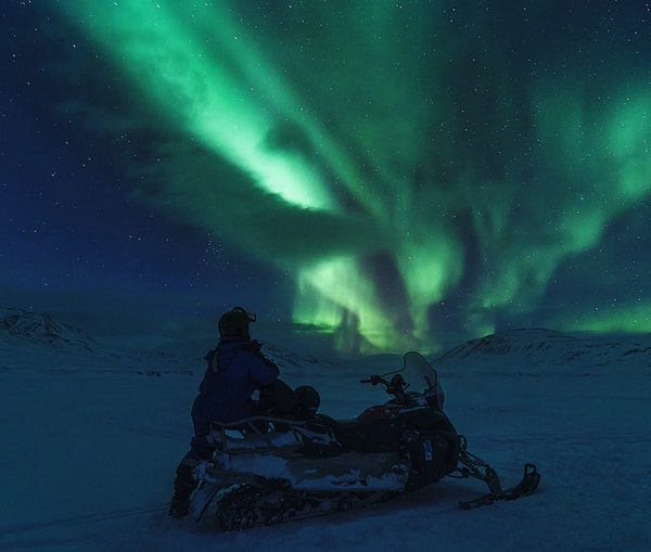 eSnowmobiling Under the Northern Lights Is the Adventure You Didn't Know You Needed