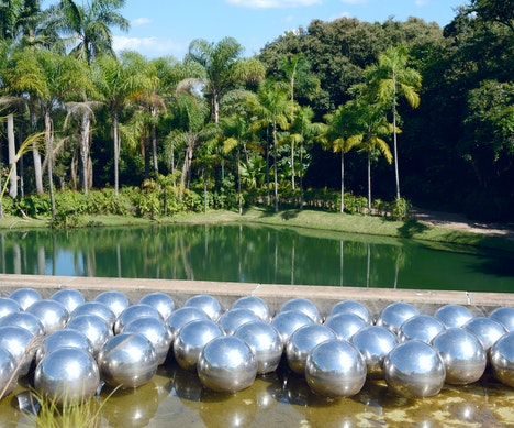 Yayoi Kusama's Urban Beach Installation Is About to Take Over Your Instagram New York