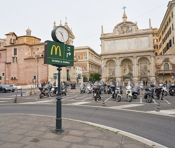 Rome Bars McDonald's From Opening Near Ancient Site