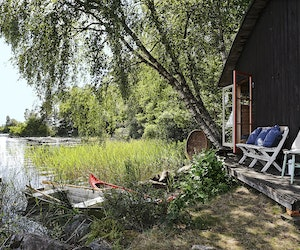 Deep in the Swedish Woods, Find the Off-Grid Trip of Your Dreams