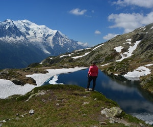 How I Learned to Love Hiking the Alps Alone When My Best Friend Bailed